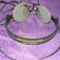 SENNHEISER model HD410SL, Casti On Ear, Cu fir, Mufa 3, 5mm