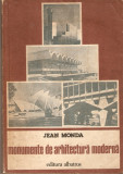 Jean Monda-Monumente de arhitectura moderna, Alta editura