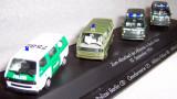 Herpa set aniversar Volkswagen T2 POLICE 1:87