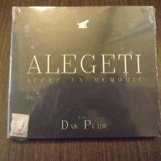 ALEGETI - ACCES LA MEMORIE - DAN PURIC - NOU, SIGILAT