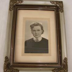 Fotografie veche tip portret facuta intr-un studio foto suedez din orasul Linkoping, Portrete, Europa