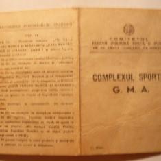 Brevet pt. Insigna GMA categ.I 1952 -F.Rara!