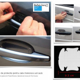 Set 4 folii transparente protectie  oala maner usa masina auto automobil door