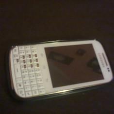 Vand Samsung Galaxy Chat - Telefon Samsung, Alb, 4GB, Neblocat, Single core, 512 MB