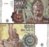 500 LEI IANUARIE 1991 UNC