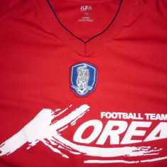 Tricou fotbal KOREA de SUD - Tricou echipa fotbal, L, Rosu, Nationala, Maneca scurta