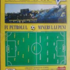 Petrolul Ploiesti-Minerul Lupeni (28 august 2010) - Program meci