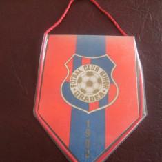 Fanion fotbal, al echipei Fotbal Club Bihor Oradea, de colectie !