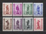 Belgia 1943 - Serie MNH