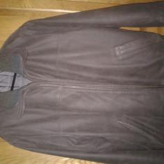 Geaca, haina piele naturala marimea 50, maro import NORVEGIA, model deosebit - Geaca barbati Nordstrom
