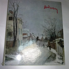 ANDREESCU - album de RADU BOGDAN - volumul 1 (cel cu reproduceri) - Album Pictura