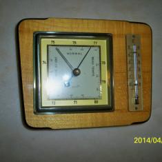 Barometru si termometru mercur Germania anii 60