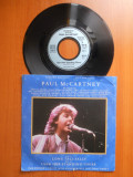 """Raritate! Disc Vinyl 7"""" Paul McCartney - The Prince's Trust 10th Anniversary Birthday Party,1987,Vinil Limited edition,A&M Records,Germania"""