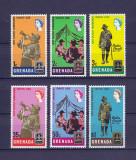 Colonii Britanice Grenada 1968 - Jamboreea - serie MNH