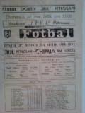 Chimia Rm.Valcea-Jiul Petrosani (28 mai 1989)