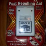 Pest Ripeller Riddex- Aparat cu ultrasunete impotriva sobolanilor, gandacilor