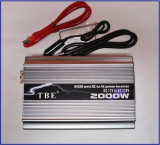 Invertor ( convertor ) 12v la 220V 2000 W TBE ! CALITATE