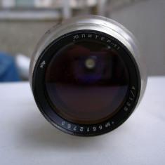 Obiectiv foto Jupiter 11 4/135mm filet 39mm - Obiectiv DSLR, Tele, Manual focus