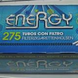 Tuburi energy 275 ( LIVRARE GRATUITA PRIN CURIER CHIAR si la 1 BAX ) 40*275=11.000 TUBURI - Foite tigari