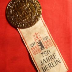 Insigna si Cocarda 750 Ani Berlin 1987