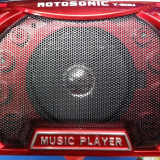 BOXA PORTABILA CU MP3 (SLOT CARD / USB ) CU ACUMULATOR SI BATERII