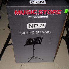 Stativ note MusicStore-metall - Stativ Partituri