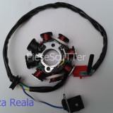 Magnetou / Stator / Aprindere scuter Gy6 ( 8 bobine ) 4T / 4Timpi / 4 T / 4 Timpi ( 49cc - 50cc - 80cc 125cc - 150cc )