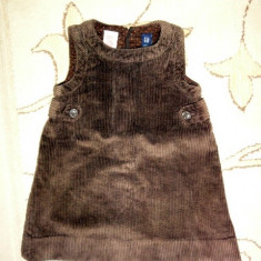 Sarafan gros de catifea, marca GAP, fete 2 ani - Sarafan copii