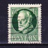 Timbre BAYERN 1916/*113A = KONIG LUDWIG III (1845-1921), ST., Wz.4