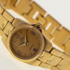 Ceas Lux Promado Legiarda Gold-Royal C mec. japonez CITIZEN-MIYOTA~placat aur - Ceas dama Citizen, Lux - elegant, Mecanic-Manual, Placat cu aur, Data