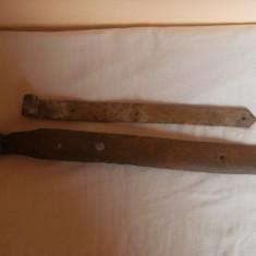 Deosebite balamale vechi, facute din fier prin batere la cald, pentru usa, pentru decor rustic ! - Metal/Fonta, Altul