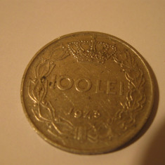 100 lei - 1943 - Moneda Romania