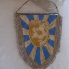 Fanion fotbal, de colectie, al Clubului Chimia Ramnicu Valcea, castigatoarea Cupei Romaniei !