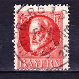 Timbre BAYERN 1916/*115A = KONIG LUDWIG III (1845-1921), ST., Wz.4