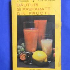 S. TEODORESCU / MARIA HACIGHIANU - BAUTURI SI PREPARATE DIN FRUCTE