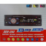 Radio MP3 Player Auto cu USB si Card Reader DEH cu fata detasabila casetofon