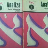 Alef-Analiza calcul diferential aplicatii (Vol 1+2) - Carte Matematica