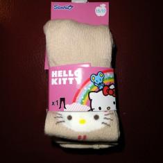 Noi! Strampi bej cu Hello Kitty, fete marimea 15-17