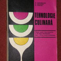 Tehnologie culinara - manual pentru licee economice si drept administrativ clasa a XII -a si scoli profesionale - A.Chirvasuta, V.Grigoriu D.Enache - Carti Industrie alimentara