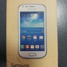 Samsung Galaxy Tren Plus S7580, 4GB, Negru, Neblocat