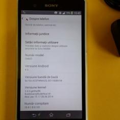 Sony Xperia Z Alb, Neverlock, 16 gb, Quad Core, in stare foarte buna - Telefon mobil Sony Xperia Z