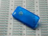 Husa protectie bumper gel TPU seria S-LINE APPLE IPHONE 5C !, Albastru