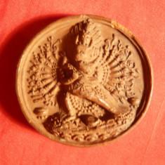 Sigiliu Oriental vechi Asia de Sud-Est, ceramica, d= 4 cm - Arta din Africa