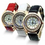 Ceas de dama JUD cu cristale nou garantie reducere, Quartz, Analog
