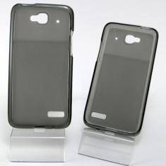 Husa ORANGE Hiro Alcatel One Touch Idol Mini OT-6012 OT-6012D TPU Black - Husa Telefon Orange, Negru, Gel TPU, Fara snur, Carcasa