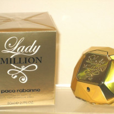 Paco Rabanne Lady Million made in france - Parfum femeie Paco Rabanne, Apa de parfum, 80 ml