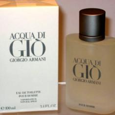 Acqua Di Gio aqua di gio 100 ml Made in France - Parfum barbati Armani, Apa de toaleta