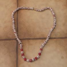 Margele vintage / confectionate manual - Colier perle