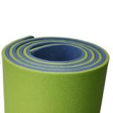 Saltea Izopren Izolir Polifoam 12mm Albastru/Verde + Chingi Compresie