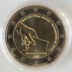 MALTA moneda 2 euro comemorativa 2011, UNC, Europa, Cupru-Nichel